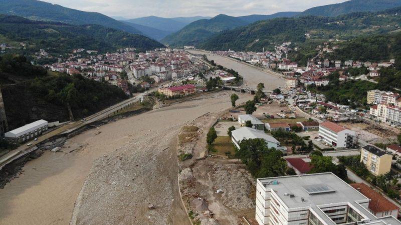 Ayancık'taki felaketin boyutu sular çekilince meydana çıktı   Son Dakika