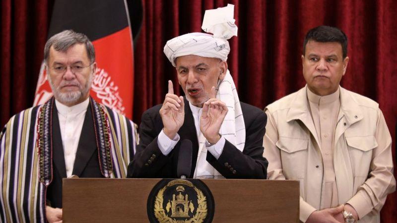 Afganistan Cumhurbaşkanı Gani ülkeden ayrıldı  Son Dakika