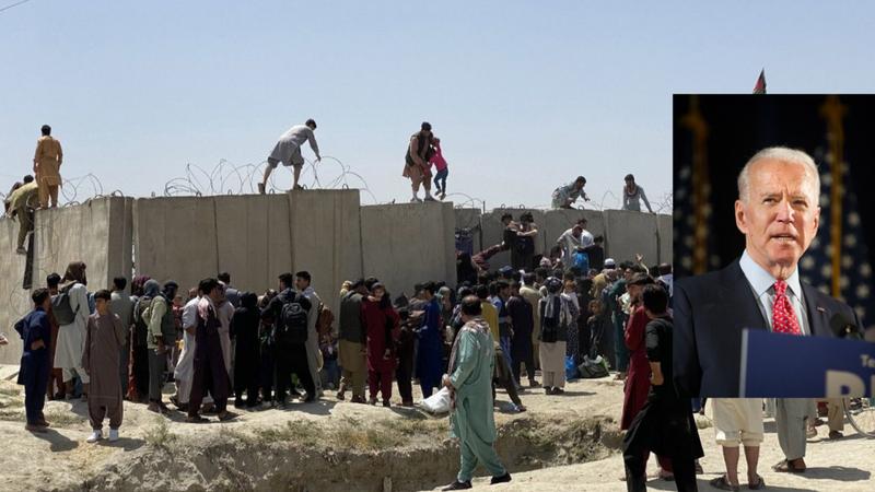 """ABD Başkanı Biden: """"Afganistan'dan kaos olmadan çıkamazdık""""   Son Dakika"""