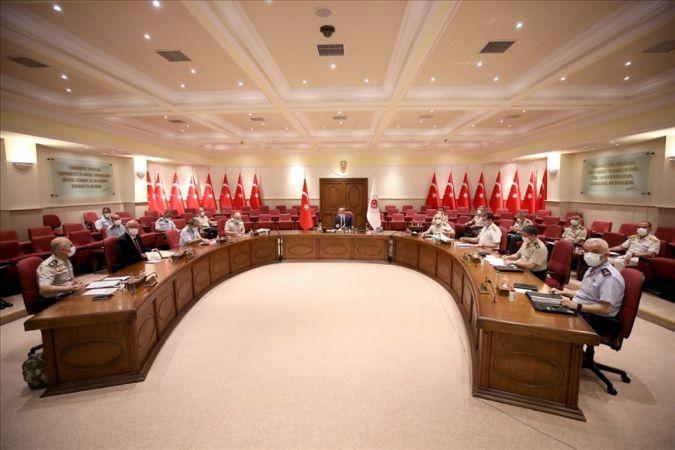 """Milli Savunma Bakanlığı'nda """"Afganistan"""" toplantısı  Son Dakika"""