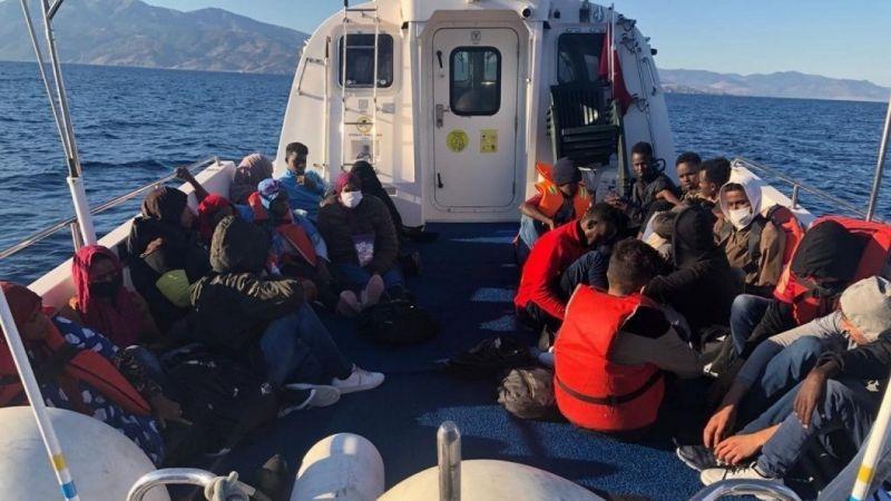 Yunanistan'ın ölüme terk ettiği 52 düzensiz göçmen kurtarıldı | Son Dakika