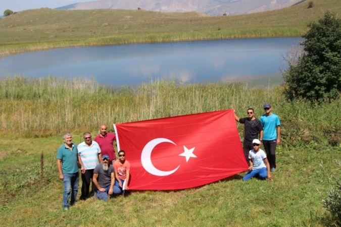 Oltulu doğaseverlerden 30 Ağustos Zafer Bayramı yürüyüşü |Son Dakika