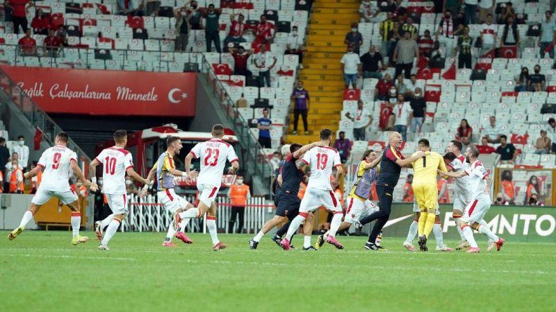 2022 FIFA Dünya Kupası Elemeleri: Türkiye: 2 - Karadağ: 2 (Maç sonucu) | Son Dakika
