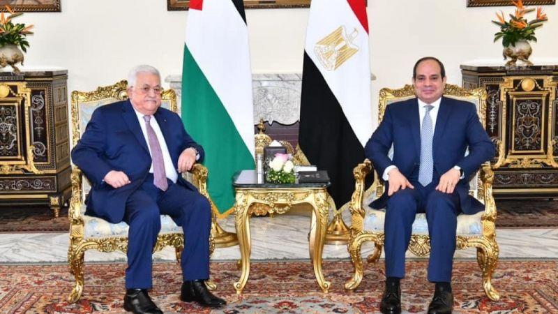 Mısır Cumhurbaşkanı Sisi, Filistin Devlet Başkanı Abbas'la görüştü |Son Dakika