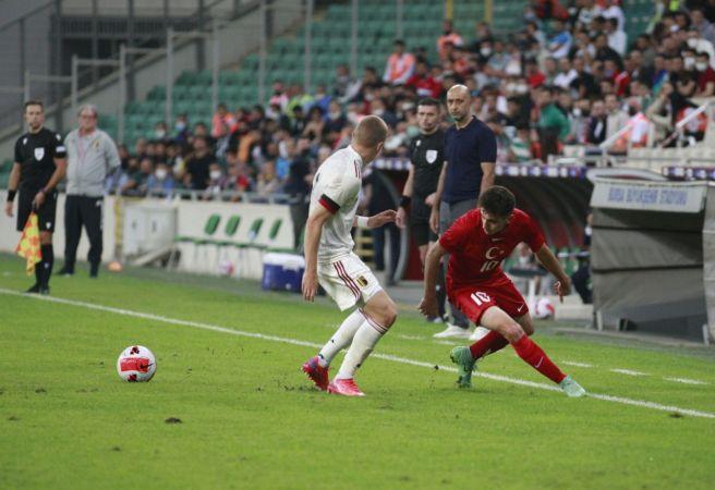 U21 Avrupa Şampiyonası Elemeleri: Türkiye: 0 - Belçika: 3  Spor Haber