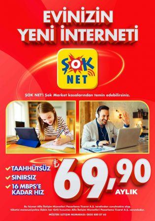 ŞOK Marketler'den yeni hizmet internet