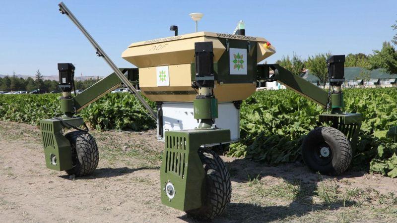 İnsansız tarım robotu geliyor   Son Dakika
