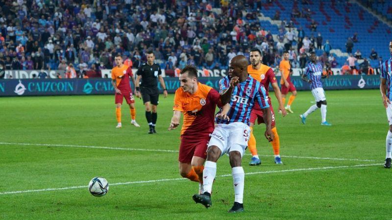 Süper Lig: Trabzonspor: 2 - Galatasaray: 2   Spor Haber