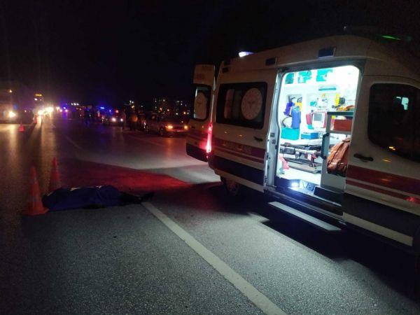Gaziantep'te polisten kaçan Afgan mülteci, araç çarpması sonucu hayatını kaybetti