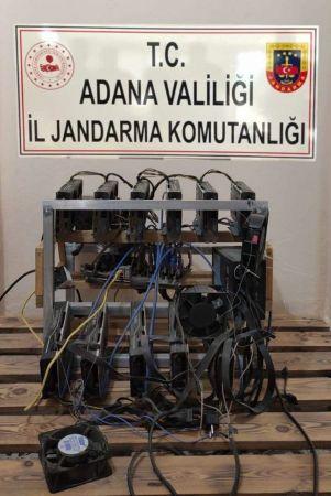Adana'da kripto para operasyonu yapıldı
