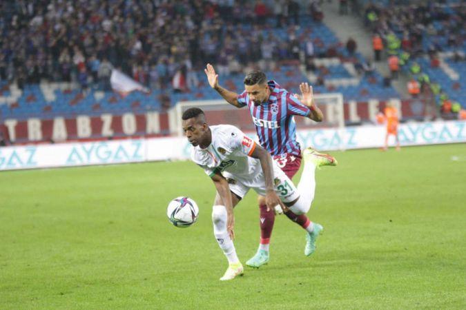 Süper Lig: Trabzonspor: 1 - Aytemiz Alanyaspor: 1