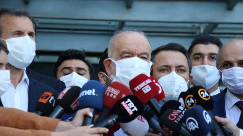 Asiltürk'ün vefatının ardından bakanlardan hastaneye taziye ziyareti | Son Dakika