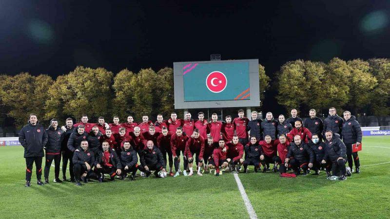 A Milli Takım, Letonya maçı hazırlıklarını tamamladı |Son Dakika