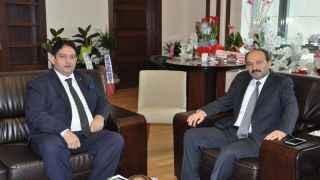 Başkan Hakan Oral'dan, Rektör Çakmak'a  ziyaret!