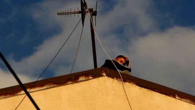 Erzurumda intihar etmek istedi...