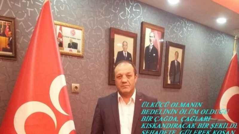 MHP Erzurum İl Başkanı Karataş'tan 27 Mayıs mesajı