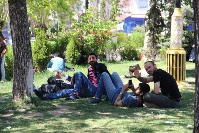 Erzurumlulara 'Afrika' şoku; sıcaklıklar 10 derece birden arttı