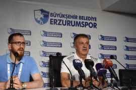 BB Erzurumspor - İstanbulspor maçının ardından