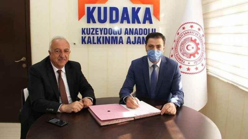 Üzümlü Sebze ve Meyve Kurutma tesisinin protokolü imzalandı