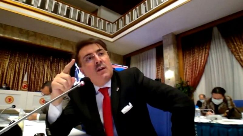 İbrahim Aydemir'den HDP Vekili Özgüneş'e Tokat Gibi Cevap!Seni Erzurum'lular adına Lanetliyorum