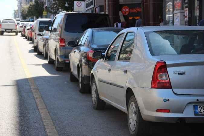 Erzurum araç sayısı artış seyrinde!