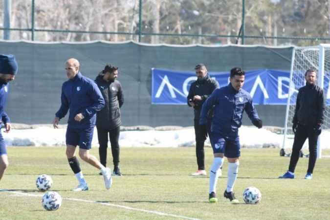 BB Erzurumspor'da Göztepe maçı hazırlıkları başladı