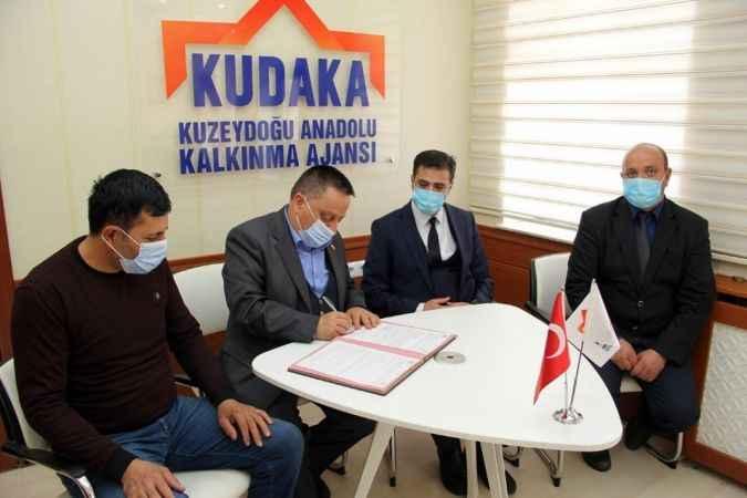 KUDAKA Mali Destek Programında ilk imzalar atıldı!