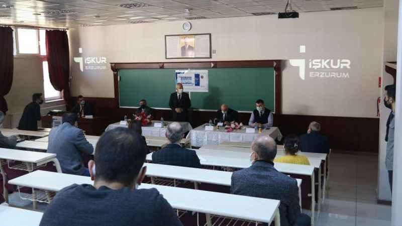 Erzurum İŞKUR ve Atatürk Üniversitesi tarafından  istihdam çalıştayı düzenlendi!