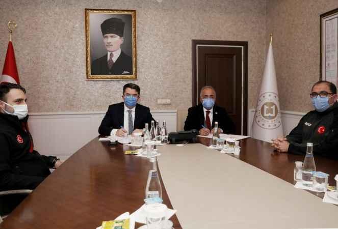 Atatürk Üniversitesi Afet Farkındalık Eğitimi için protokol imzaladı! -  Erzurum Haber