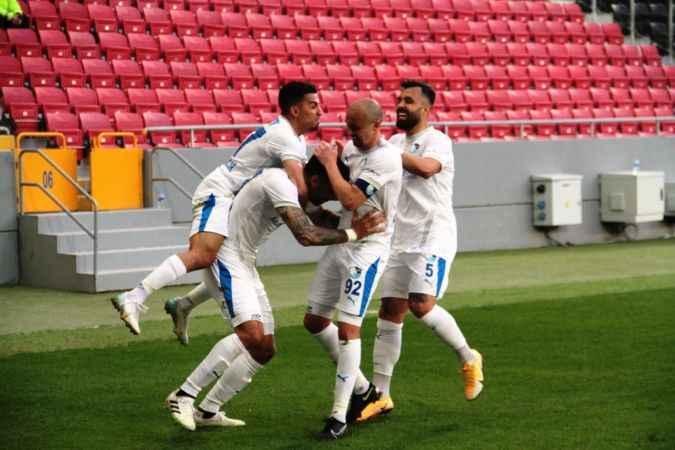 BB Erzurumspor tarihinde bir ilki başardı