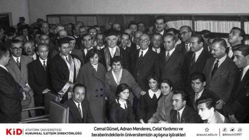 Atatürk üniversitesi 64 yaşında....