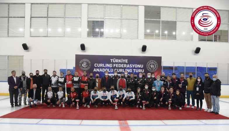Curlingte Anadolu Kupası Erzurum Karması Şampiyon!