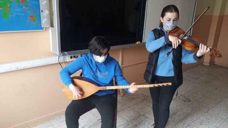 Proje Erzurum'da başarıyla tamamlandı1000 Meslek Lisesi Sanatsal Etkinliklerle Buluşuyor