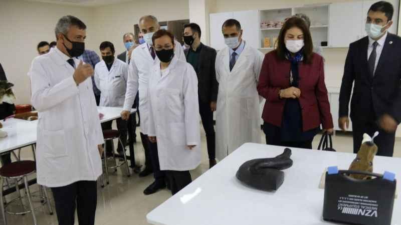 Atatürk Üniversitesi, modern hayvan sağlığı hizmetleriyle dikkat çekiyor