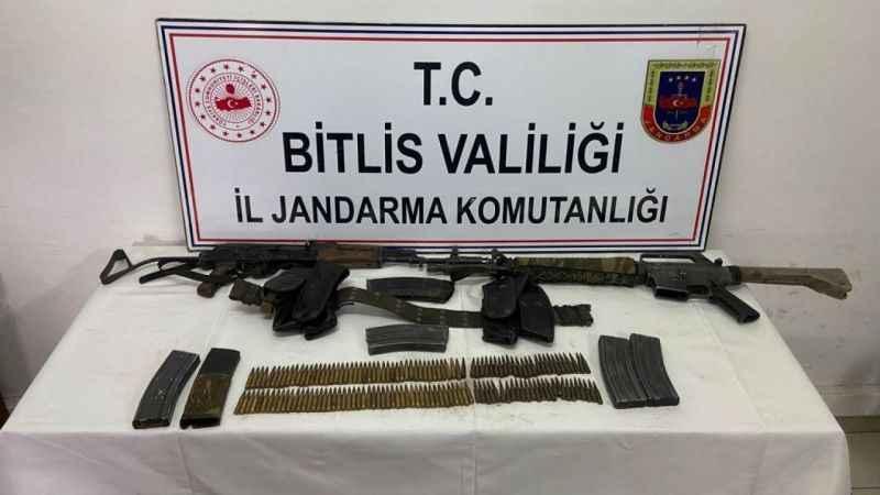 Bitlis'te 1 terörist silahı ile birlikte etkisiz hale getirildi