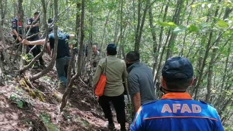 Dağlık arazide parçalanmış erkek cesedi bulundu!