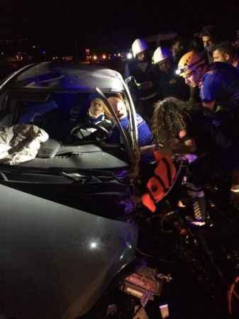Van'da trafik kası 1 yaralı