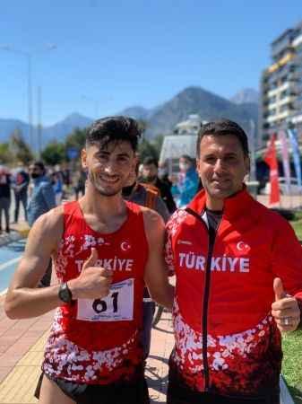 Atlet Serhat Güngör'e Milli Takım kampı daveti