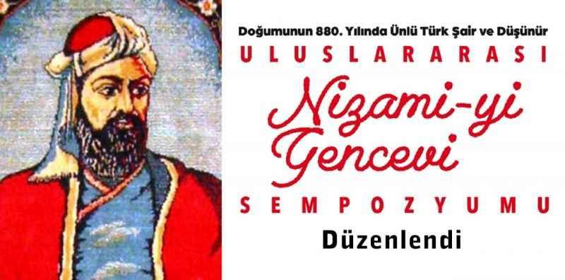 Uluslararası Nizami-yi Gencevi sempozyumu düzenlendi