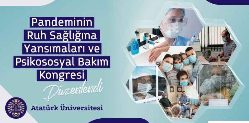 Atatürk Üniversitesi'nde pandeminin ruh sağlığına yansımaları ele alındı