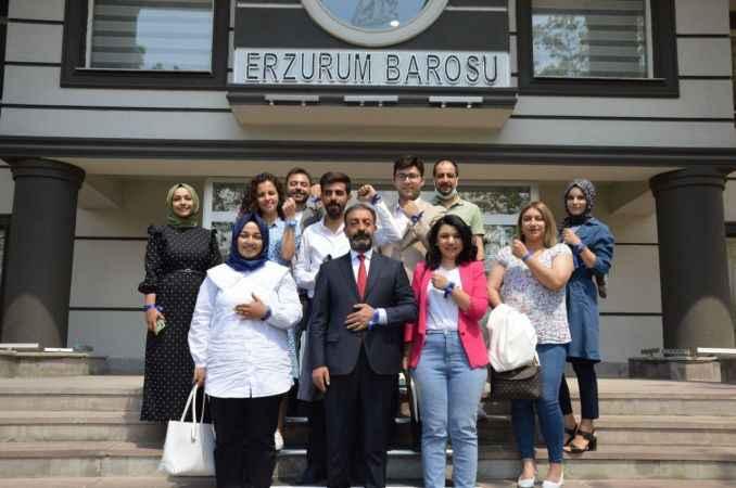 Erzurum Barosu ve Erzurum Denetimli Serbestlik Müdürlüğü'nden çocuk istismarı ile mücadeleye destek