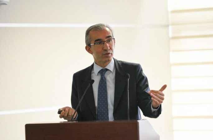 Erzurum Oltu Esenyamaç Göleti'nde çalışmalar aralıksız devam ediyor