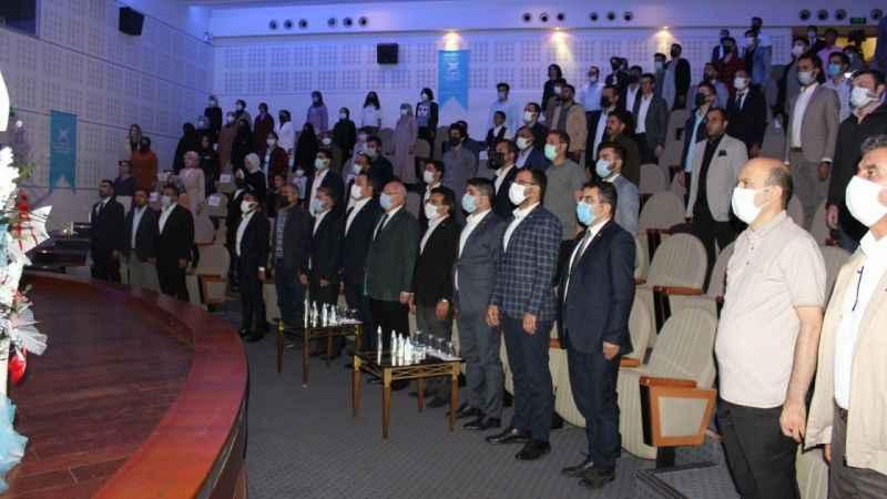 TÜGVA'nın Erzurum Temsilciliği'ni Erhan Bayrak Devraldı