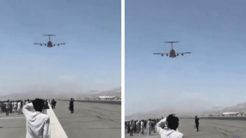 Uçak Tekerleğinden Düşen İki Afgan'ın Kimlikleri Tespit Edildi!