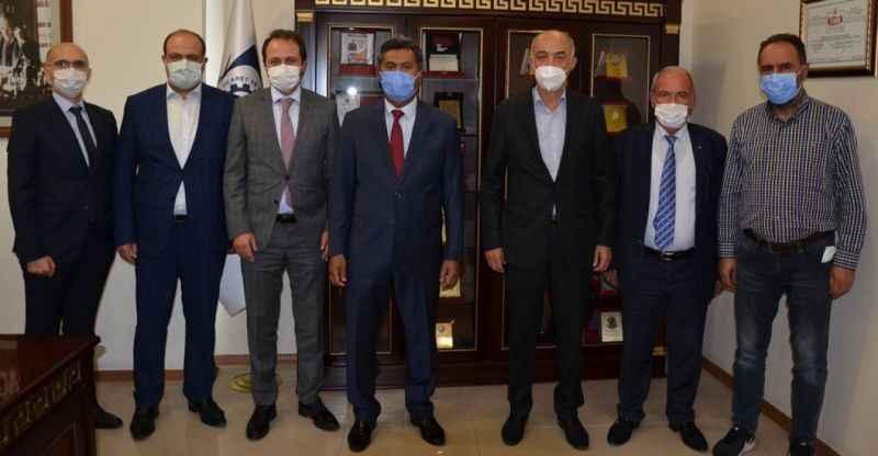 Sri Lanka Büyükelçisi Hassen'den ETSO'ya ziyaret