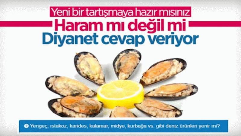 Diyanet açıklıyor! Midye, karides, yengeç... gibi deniz ürünlerini yemek haram mı?