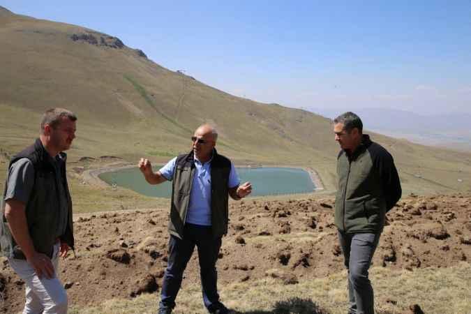 Erzurum Konaklı Kayak Merkezi Ağaçlandırılıyor
