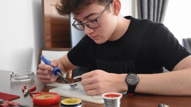 Kütahya'da 17 yaşındaki liseli genç Recep Görkem Akandere PCR cihazı üretti! İşte detaylar...