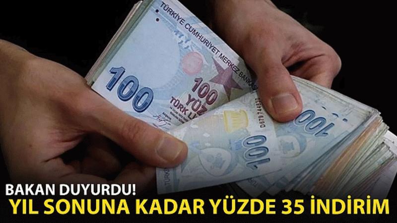 Ticaret Bakanı Mehmet Muş açıkladı! Yıl sonuna kadar yüzde 35 indirim!
