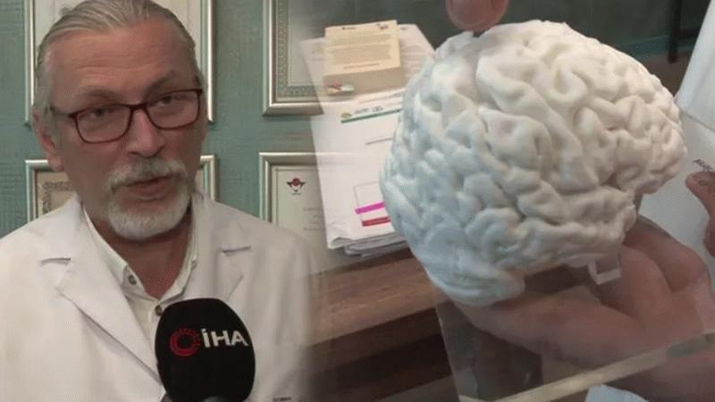 İnsan beyninin kopyasını üretti! Türkiye'de bir ilk!